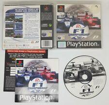 F1 campeonato temporada 2000 Sony Playstation 1 PS1 3+ juego de carreras rápido post