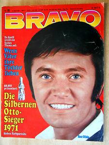 Bravo 15/1971 Komplett -50. Geburtstag-  Peggy Lipton, Elton John, Dawn  - TOP