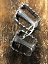 Vintage VP-468 Bmx Cruiser Pedals 9/16 Used Silver VP