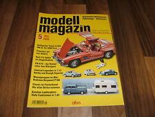 Modell Magazin  5/2008 -- Automobil-Miniaturen / Kyoshos Lamborghini / MB 300 SL