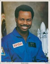 RONALD McNAIR Signed Photograph NASA Astronaut Space Shuttle Challenger preprint