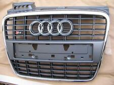 Audi A4 B7 original S4  front grille 8E with license plate holder