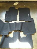 NEW OEM 2008*-2012 NISSAN PATHFINDER CARPET FLOOR MATS - CHARCOAL COLOR ONLY
