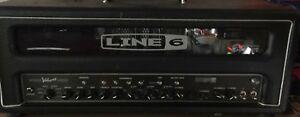 Line 6 Spider Valve HD100 100 watt Guitar Amp mk11 mk2 Slightly Defective