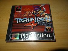 Toshinden 4 ps1 playstation one (factory sealed)