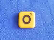 Words With Friends Letter O Tile Replacement Magnet Game Part Piece Craft Yellow