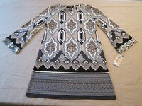 Alfani Womens Flare Petite Small Sequin Bell Sleeve Stretch Blouse New $69.50