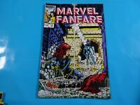 marvel fanfare #12 1st cover 2nd app iron maiden  marvel  comics Comic book