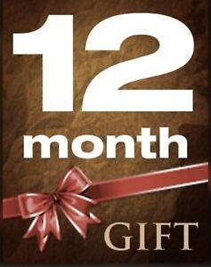 12 Months Full Gift for Openbox V8s F5 F3 Zgemma Skybox - Warranty