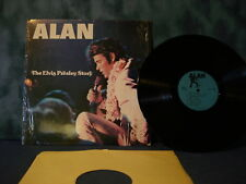 Alan presents THE ELVIS PRESLEY STORY Vinyl LP EXC Rare Elvis Impersonator