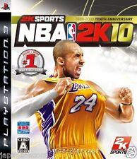 Used PS3 NBA 2K10   SONY PLAYSTATION 3 JAPAN JAPANESE IMPORT