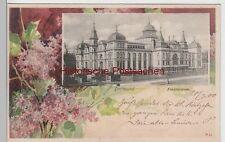 (76680) AK Dortmund, Fredenbaum, im Blumenrahmen, 1900