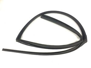 96-00 Civic 4Dr Left Rear Window Run Channel Molding Glass Guide Rubber Seal