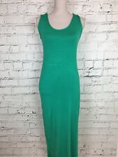 Womens UNBRANDED Green Sleeveless Thin Casual Maxi Dress Size S/M