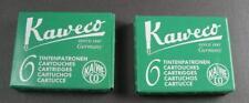 KAWECO Cartuchos 2 paquetes tinta en verde NUEVO #