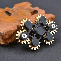 Metal/Plastic/Gear Fidget Hand Spinner Gyro Kid's Toy EDC ADHD Autism Gift