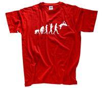 Standard Edition Hochspringer II Sprung Leichtathletik Evolution T-Shirt S-XXXL