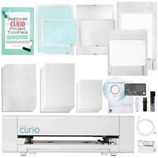Silhouette Curio Digital Crafting Machine with Large Base and Embossing Bundle