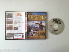 Hunting collection (4 jeux de chasse/peche) PC FR