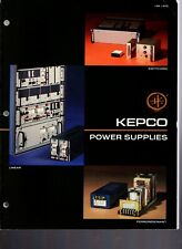 Original Kepco Power Supplies Product Booklet - 1981 - 144 pages
