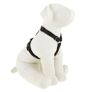 Top Paw Signature Adjustable Dog Harness Black X-Small 8 in - 14 in Girth
