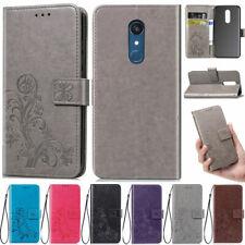 Flowers Wallet Leather Flip Case Cover For LG Q60 K50 K40 G7 G8 V40 V50 Stylo 5