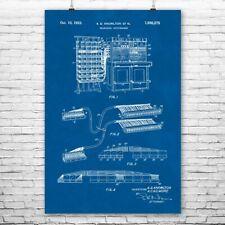 Telephone Switchboard Poster Print Telecom Gift Call Center Art Network Engineer