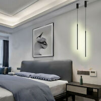 Modern LED Pendant Light Black Chandelier Hanging Ceiling Lamp Fixture Bedroom