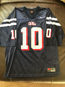Ole Miss #10 nike Jersey size large Eli Manning