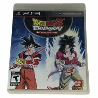Dragon Ball Z: Budokai HD Collection (Sony PlayStation 3, 2012) Complete Works