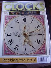 CLOCKS MAG AUGUST 2010 HOODED CLOCK THOMAS WILLIAM IDDISON FRENCH TURRET