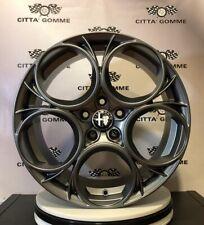 """4 Cerchi in lega Alfa Giulia Giulietta Stelvio Brera 159 da 19"""" NUOVI, BREMBO OK"""