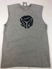 Vintage 90s Nike Basketball Youth Large Sleeveless Shirt Tank Top Made In Usa