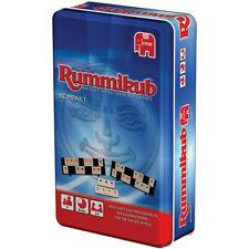 Rummikub Kompakt in Metalldose Jumbo Spiele Reisespiel
