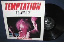 "HEAVEN 17, TEMPTATION / WHO'LL STOP THE RAIN / WE LIVE SO FAST, 12"" VINYL EP"