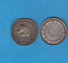 Médaille  argent Société Hippique française Concours MIDI-BORDEAUX  1877 cheval