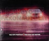 1979 Pontiac Sales Catalog Grand Prix Bonneville LeMans Catalina Grand Am OEM