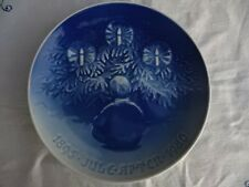Bing & Grondahl Jubilee 1980 Christmas Plate Happiness under the Yule Tree Dk