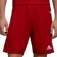 adidas Performance TEAM19 Knit Short rot - Herren Trainingshose Fußball DX7291