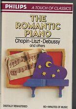 Romantic Piano * Various Artists (Cassette, 1988, Philips)