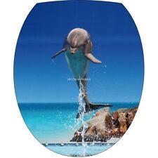 aufkleber WC, Aufkleber für -deckel WC Delfin 280