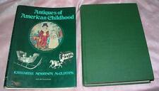 VTG 1970 COLLECTORS REFERENCE BOOK Antiques of American Childhood K MCCLINTON