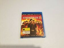 The Expendables 2 (Blu-ray Disc, 2012, Includes Digital Copy UltraViolet) New