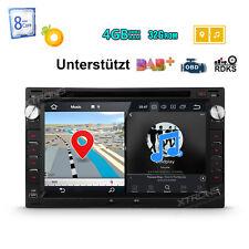 Octa Kern Android 8.0 4GB RAM Autoradio GPS Für VW BORA POLO GOLF MK4 PASSAT B5