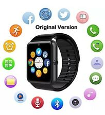 Bluetooth Smart Watch With Camera Touch Screen Smartwatch Sim Card Slot Fitness