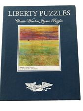 liberty wooden jigsaw puzzle Sunset 514 Pieces Childe Hassam