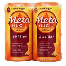 Metamucil Metamucil Orange (2 Pack) 6.8 lbs