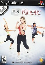 PlayStation 2 Eye Toy Kinetic with Camera  (The Personal Fitness Trainer) Game