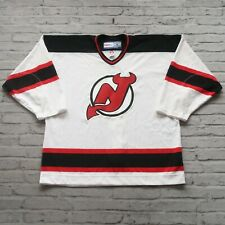 Vintage Authentic New Jersey Devils Fight Strap Hockey Jersey by CCM