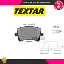 2448301 Kit pastiglie freno a disco post.Audi-Seat-Vw (MARCA-TEXTAR)